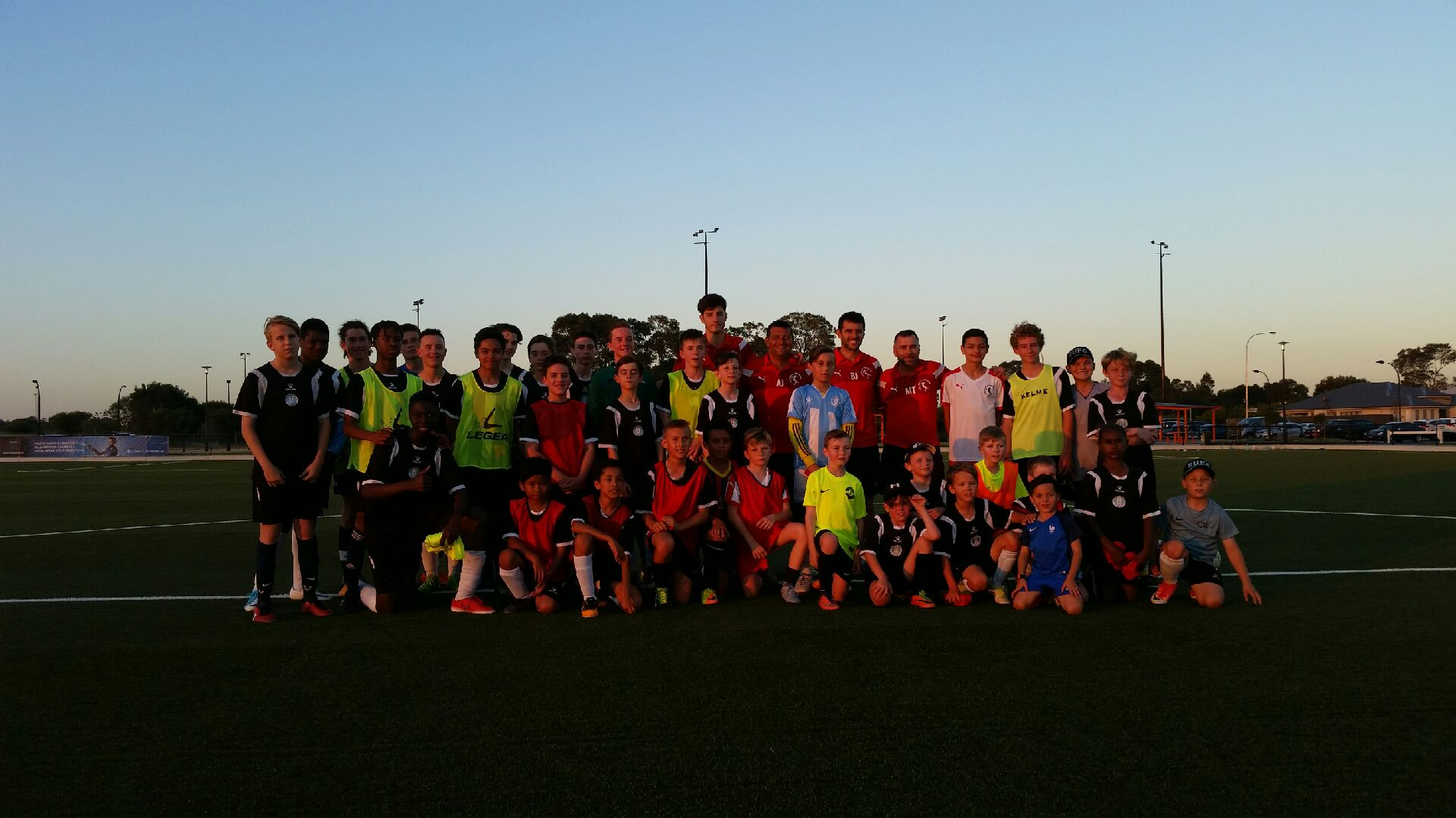Summer Development Program kicked of at Ellenbrook United FC!!!