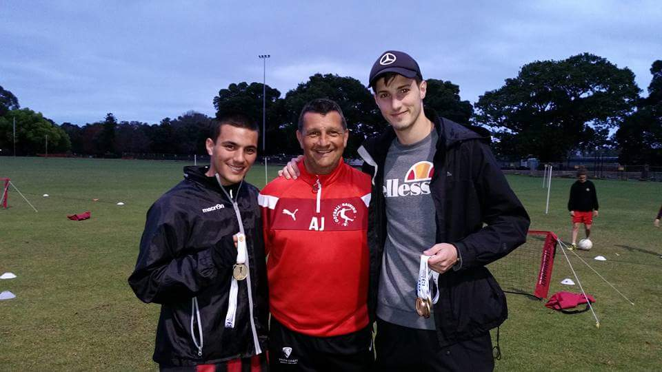 J&J`s Luka Ninkovic and Adrian Manno win NPL First Team and 18's title